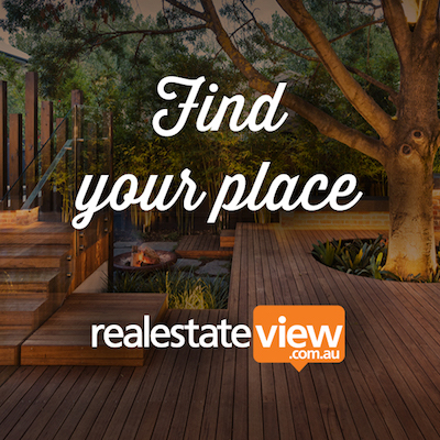 RealEstateView homepage screenshot
