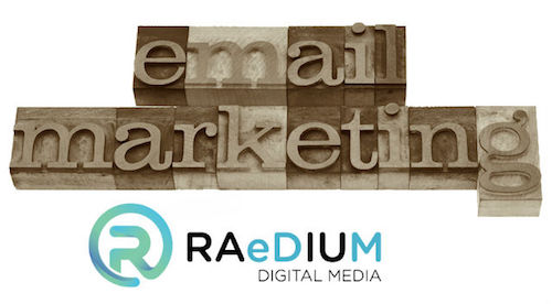 raedium logo - email marketing graphic