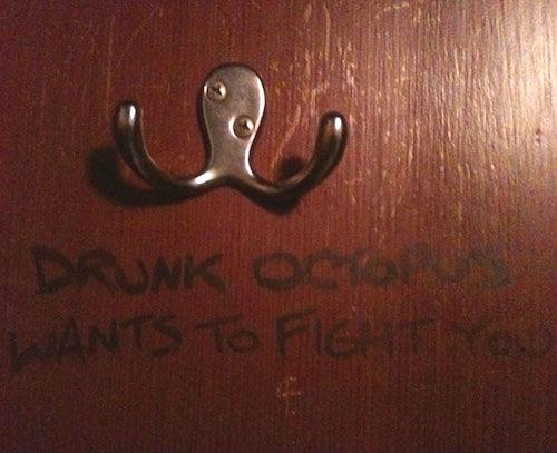 coat hanger peg that looks like a drunk octopus