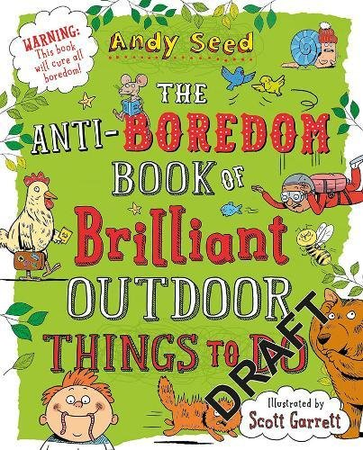 anti-boredom book of brilliant outdoor things to do - book cover